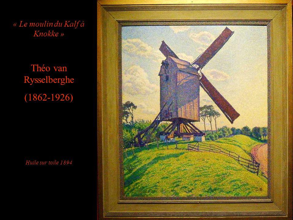 « Le moulin du Kalf à Knokke »