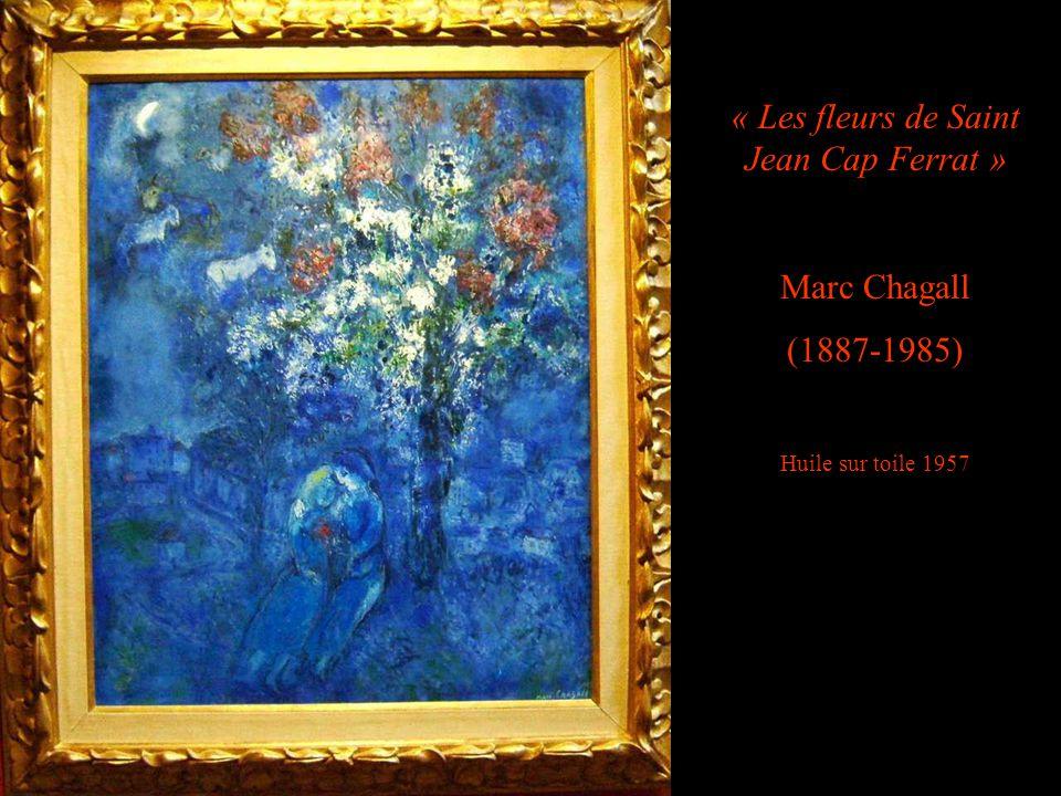 « Les fleurs de Saint Jean Cap Ferrat »