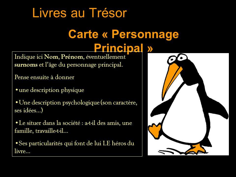 Carte « Personnage Principal »