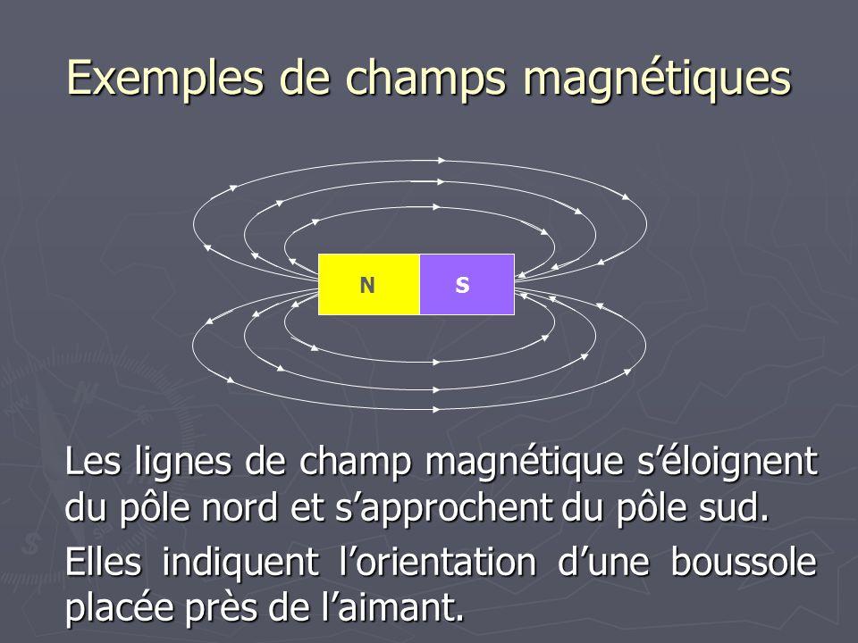Exemples de champs magnétiques