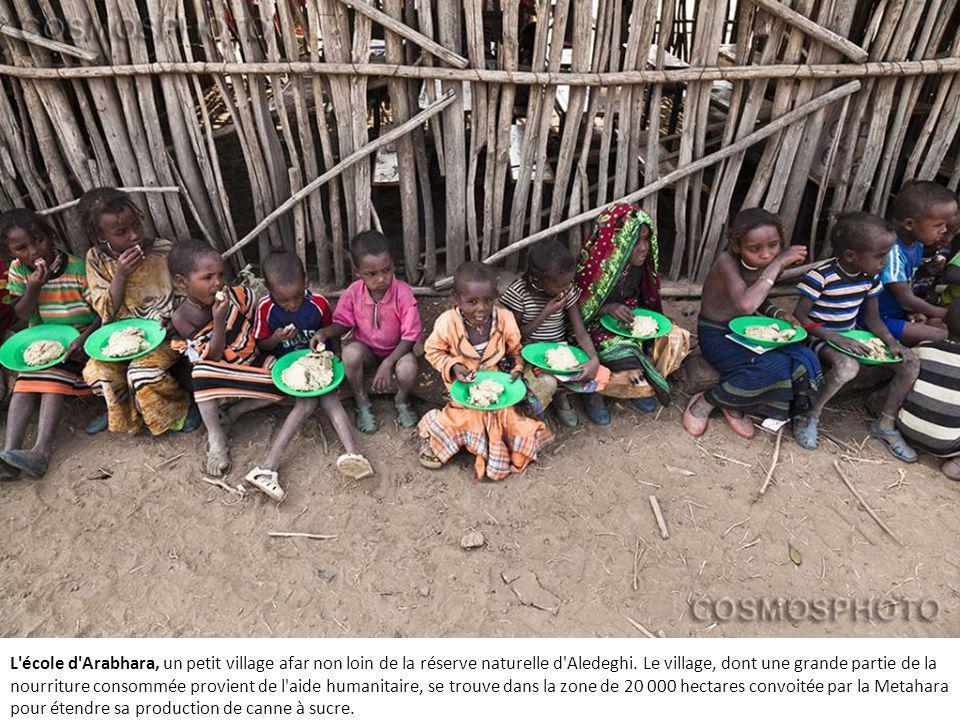 L école d Arabhara, un petit village afar non loin de la réserve naturelle d Aledeghi.