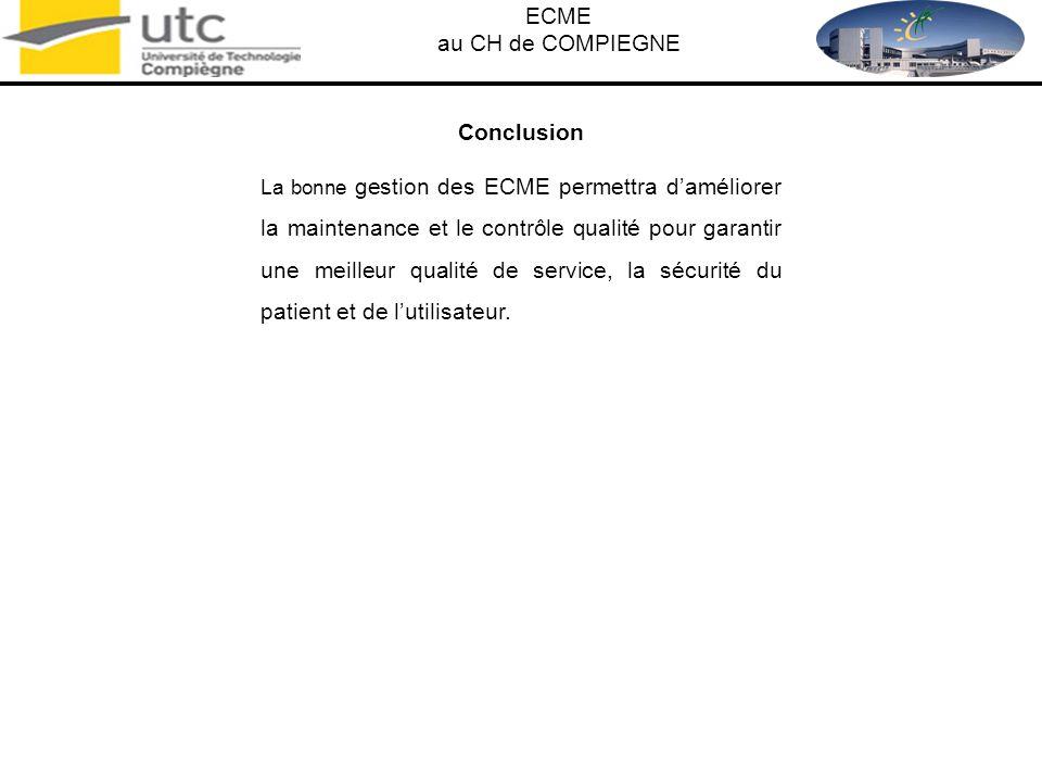 ECME au CH de COMPIEGNE Conclusion