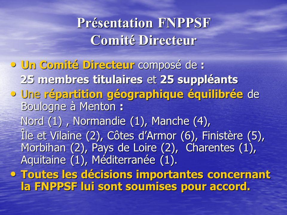 Présentation FNPPSF Comité Directeur
