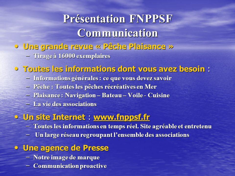 Présentation FNPPSF Communication