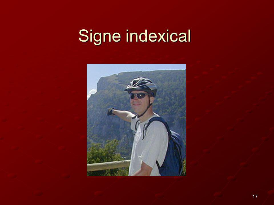 Signe indexical