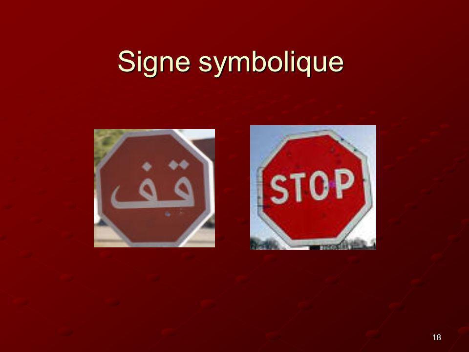 Signe symbolique