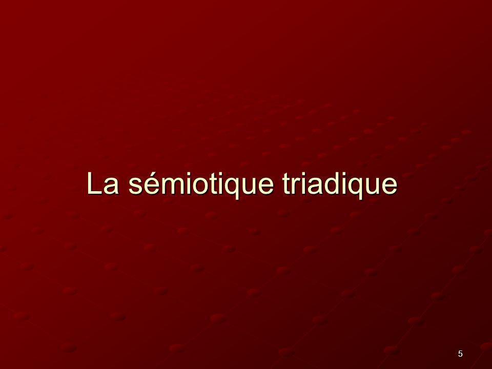 La sémiotique triadique