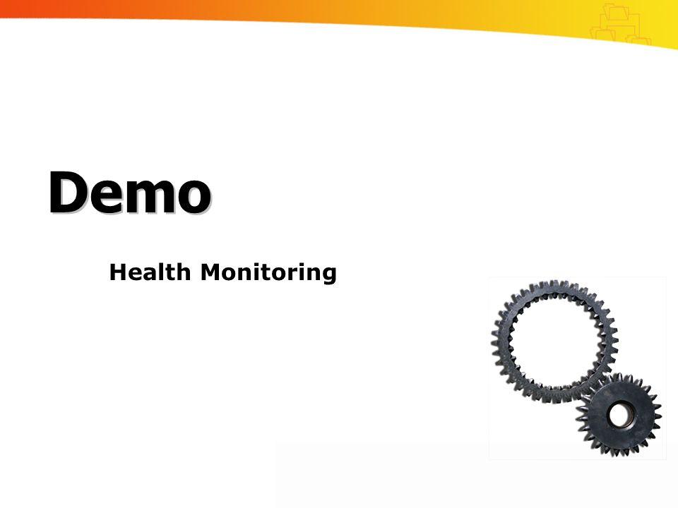 Demo Health Monitoring