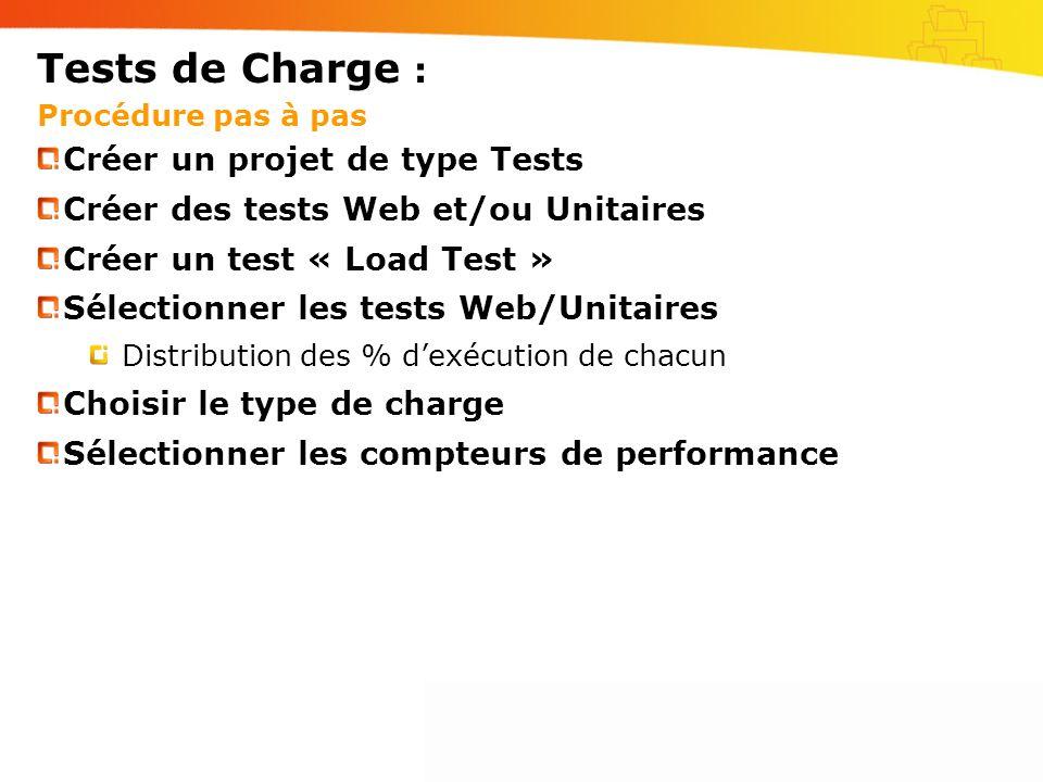 Tests de Charge : Procédure pas à pas