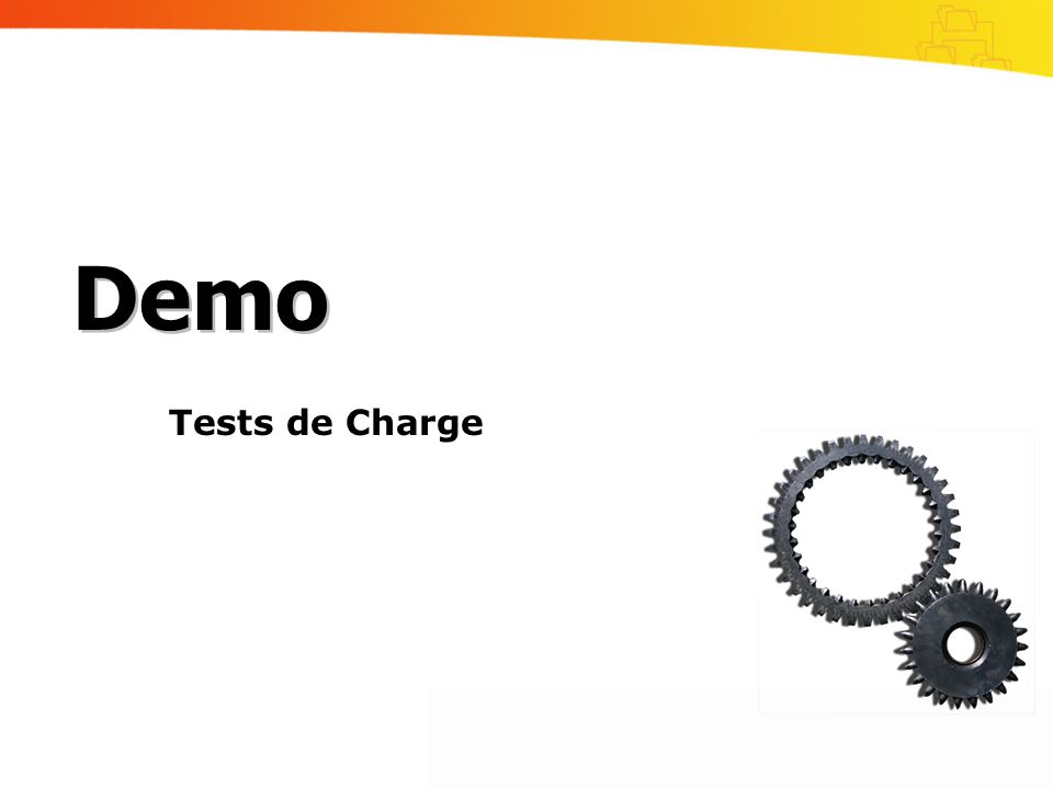 Demo Tests de Charge