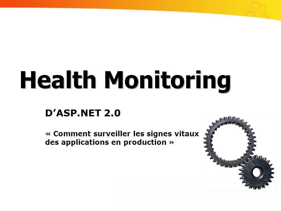 Health Monitoring D'ASP.NET 2.0
