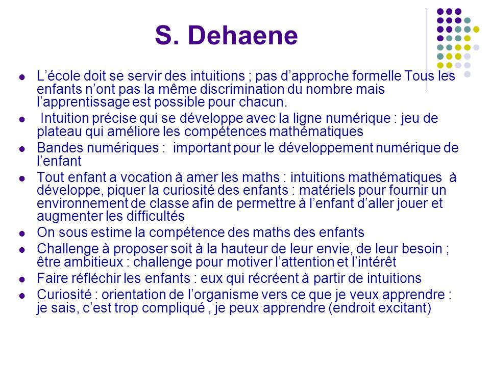 S. Dehaene