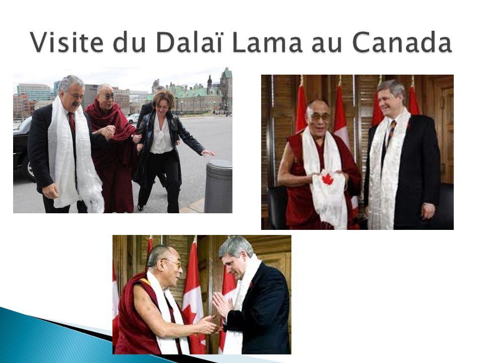 Visite du Dalaï Lama au Canada