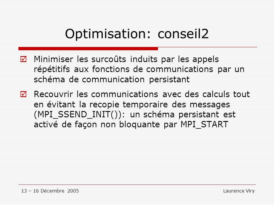 Optimisation: conseil2