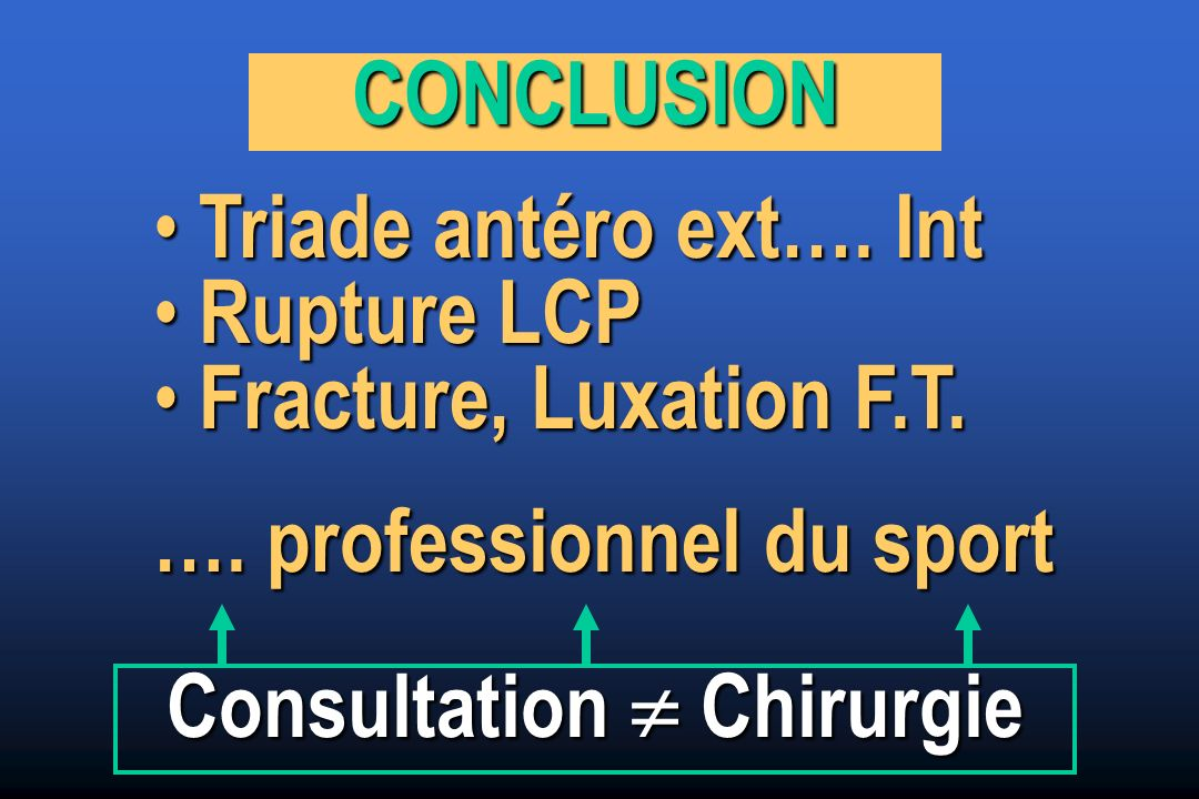 Consultation  Chirurgie
