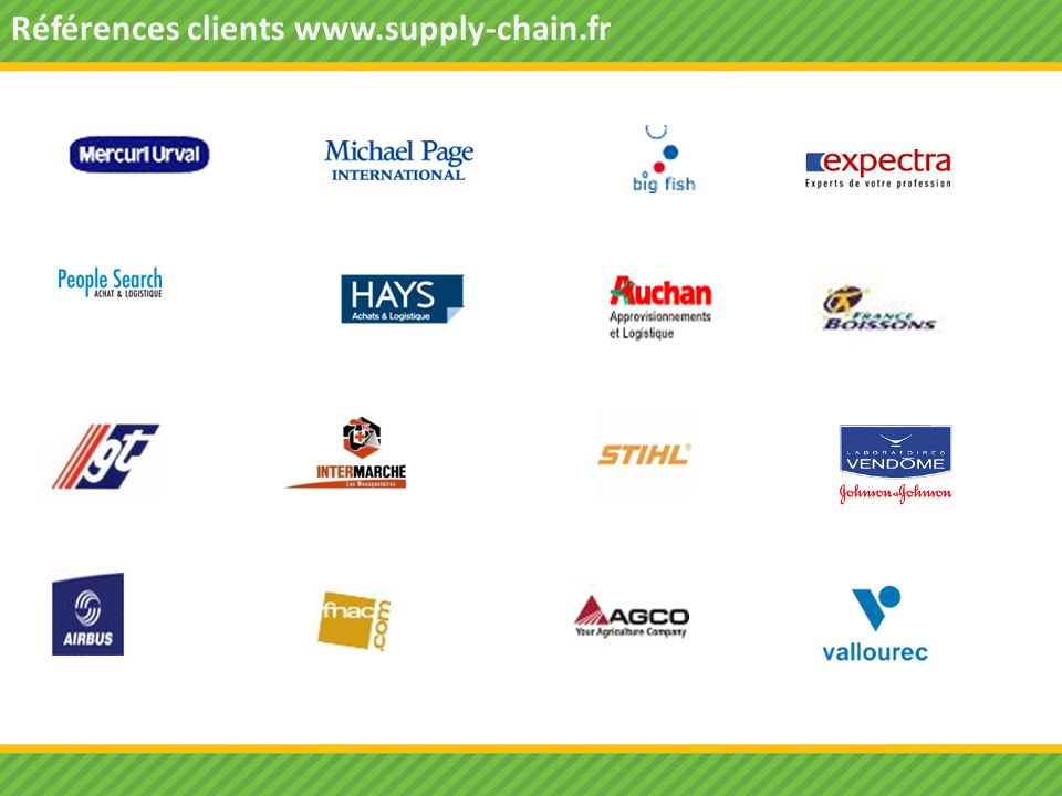 Références clients www.supply-chain.fr
