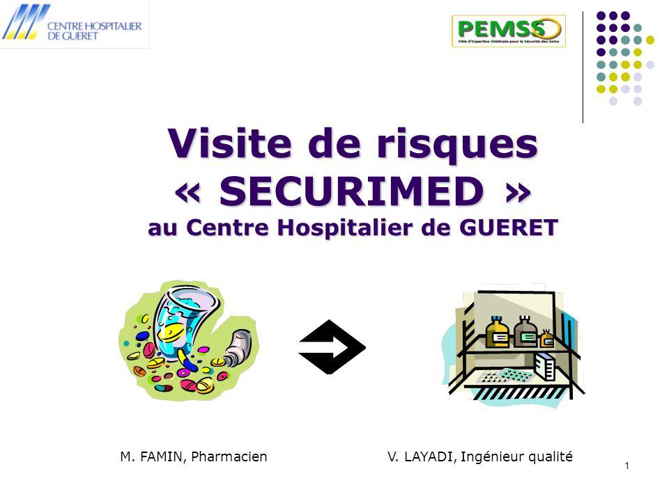 Visite de risques « SECURIMED » au Centre Hospitalier de GUERET