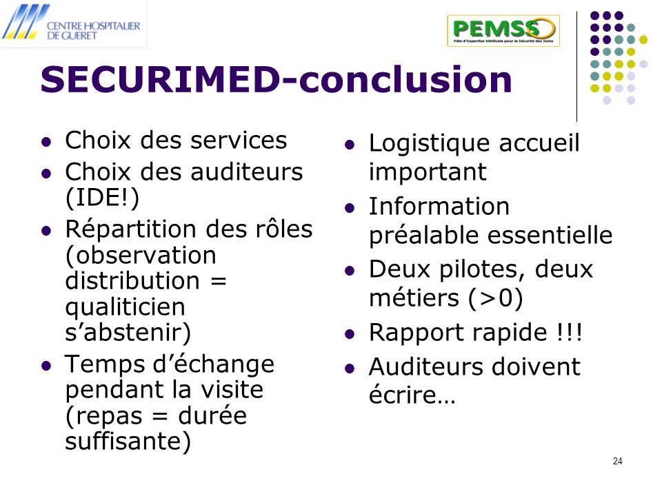 SECURIMED-conclusion