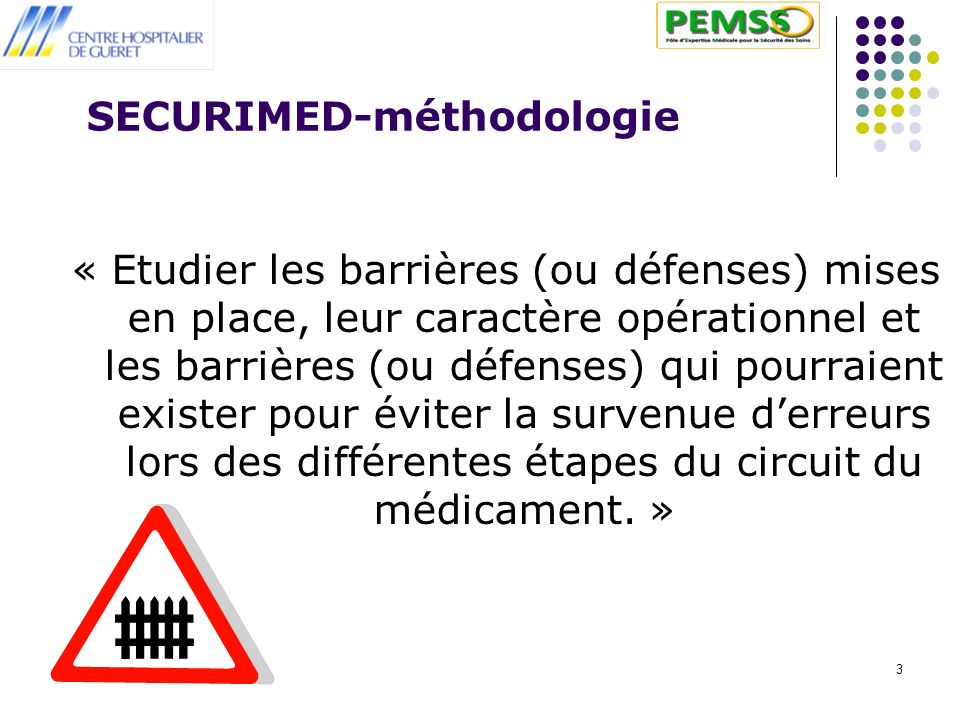 SECURIMED-méthodologie