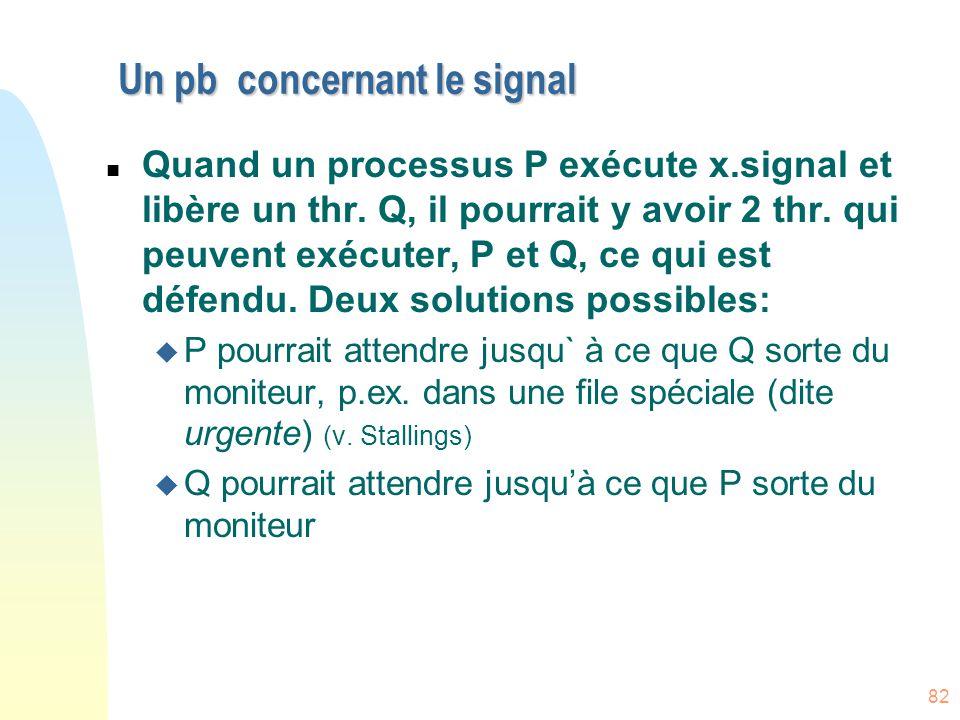 Un pb concernant le signal