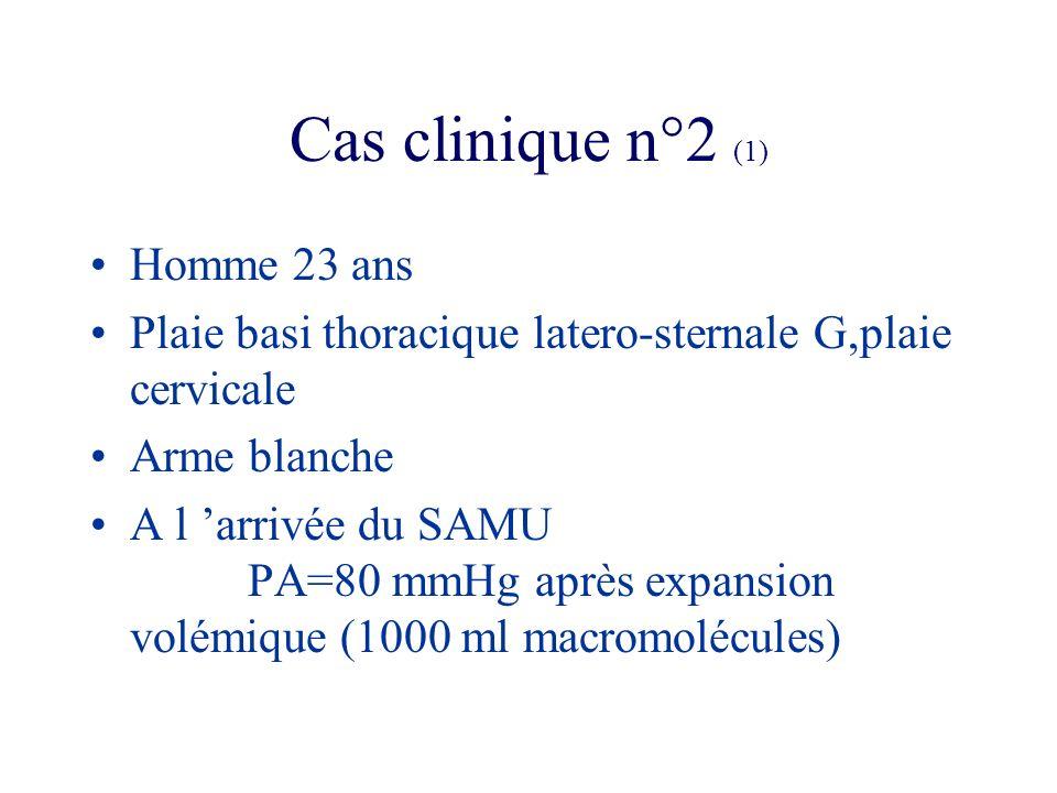 Cas clinique n°2 (1) Homme 23 ans