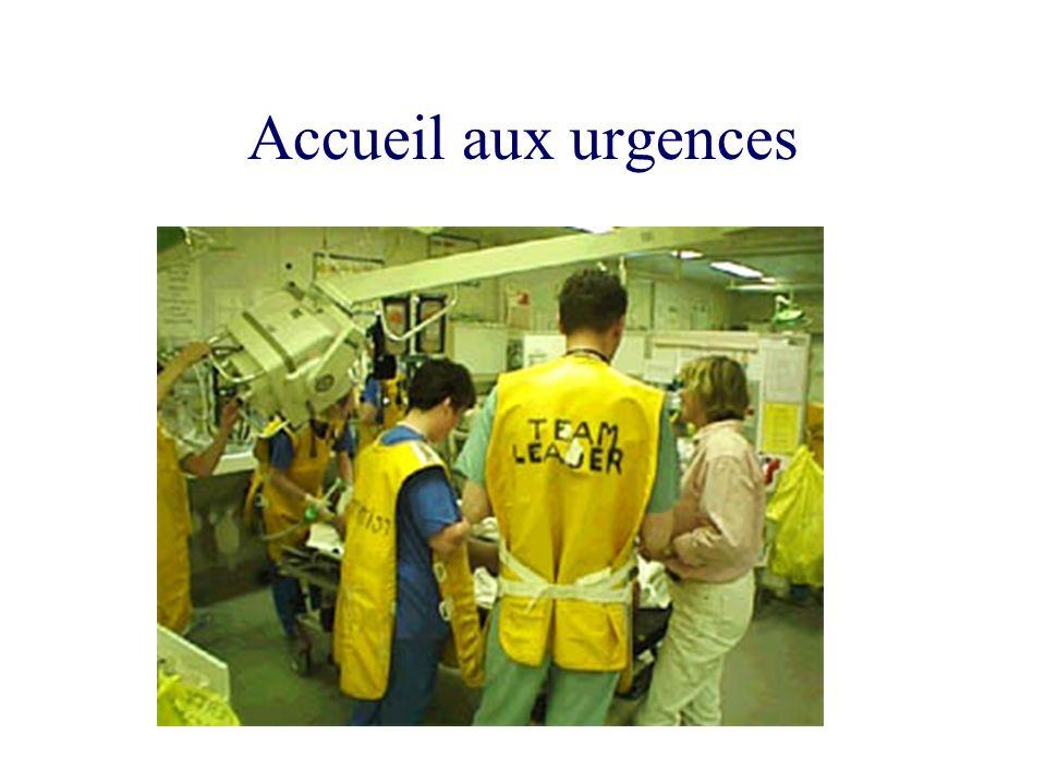 Accueil aux urgences