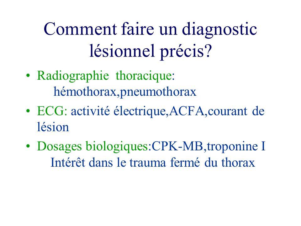 Comment faire un diagnostic lésionnel précis