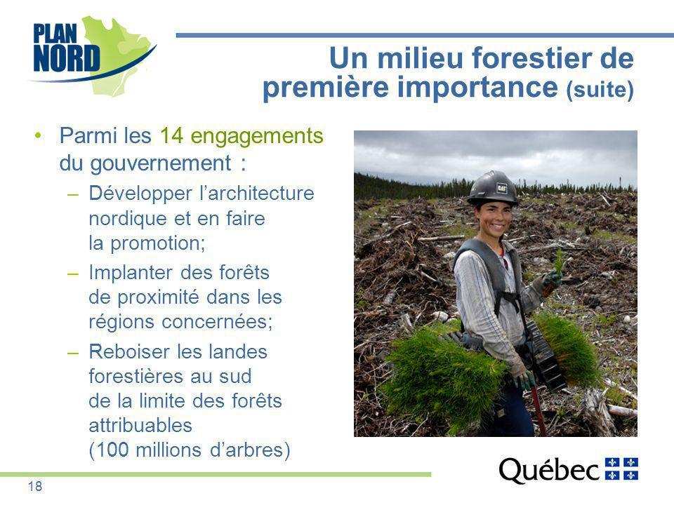 Un milieu forestier de première importance (suite)