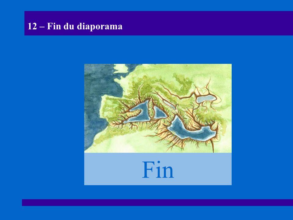 12 – Fin du diaporama Fin