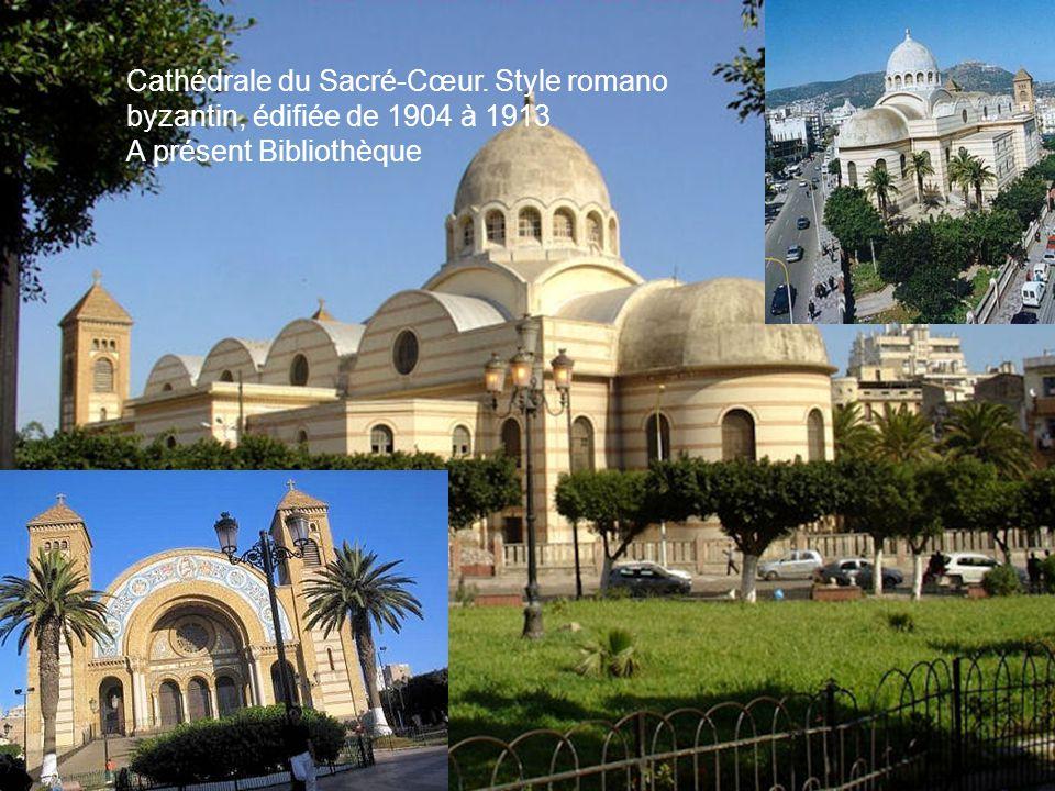 Cathédrale du Sacré-Cœur. Style romano byzantin, édifiée de 1904 à 1913