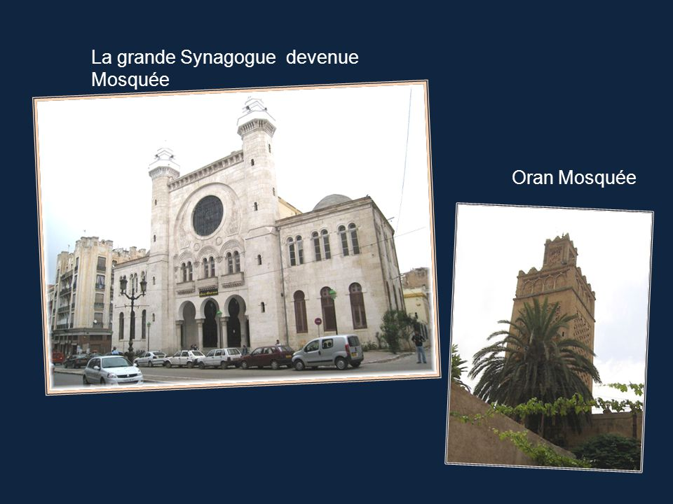 La grande Synagogue devenue Mosquée
