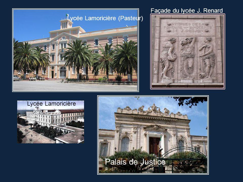 Palais de Justice Façade du lycée J. Renard
