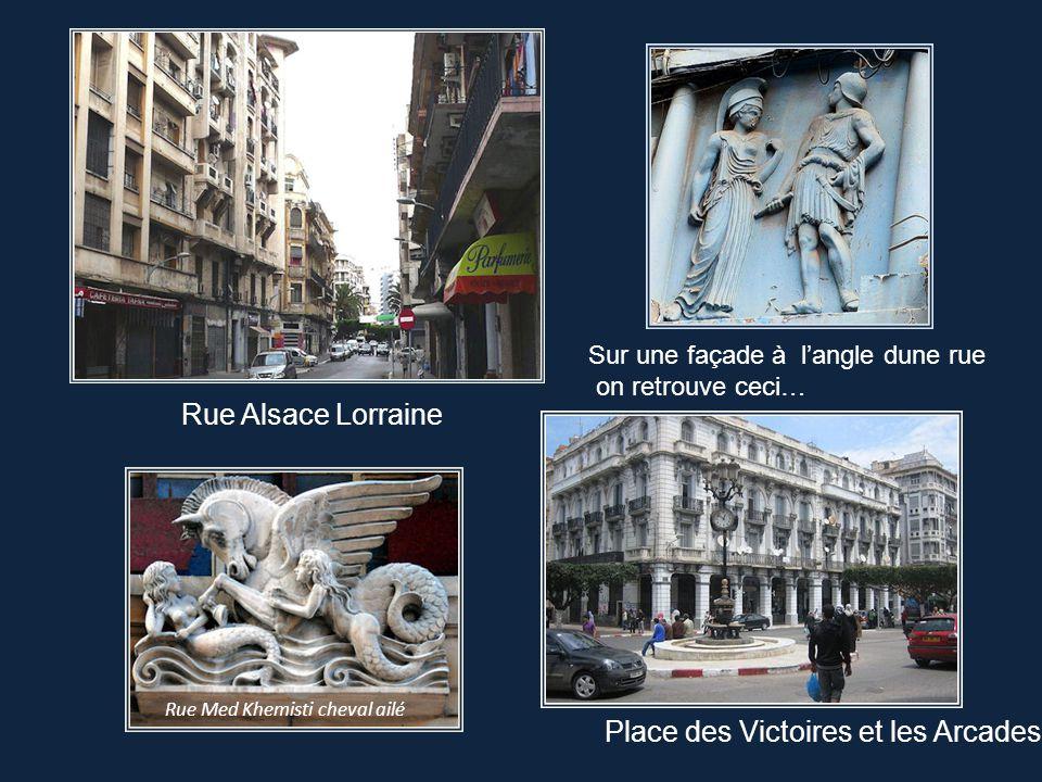 Place des Victoires et les Arcades