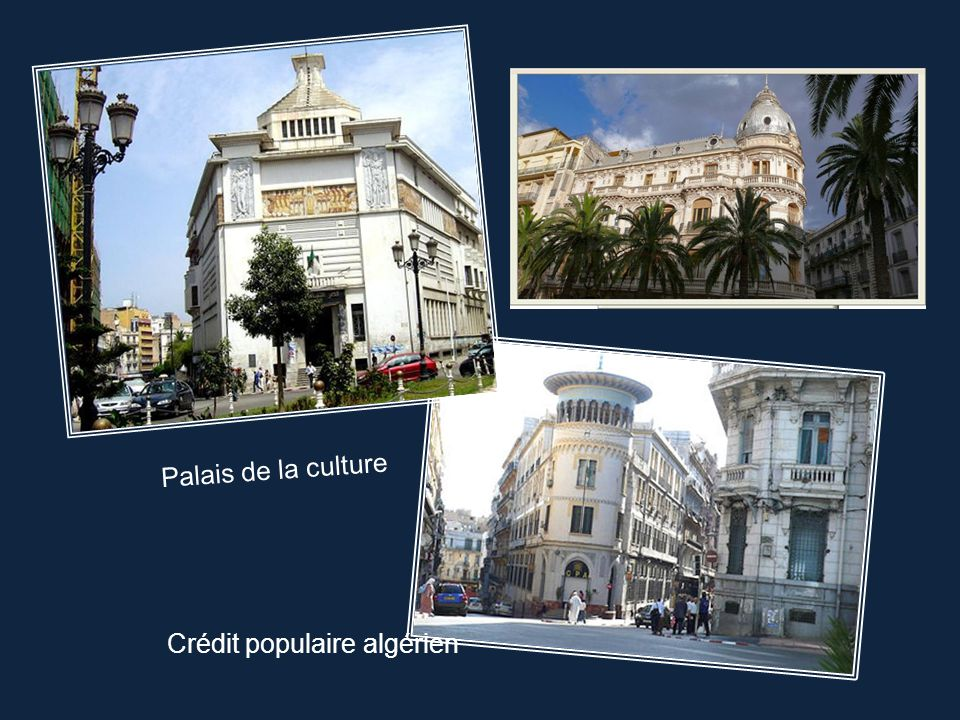 Palais de la culture Crédit populaire algérien