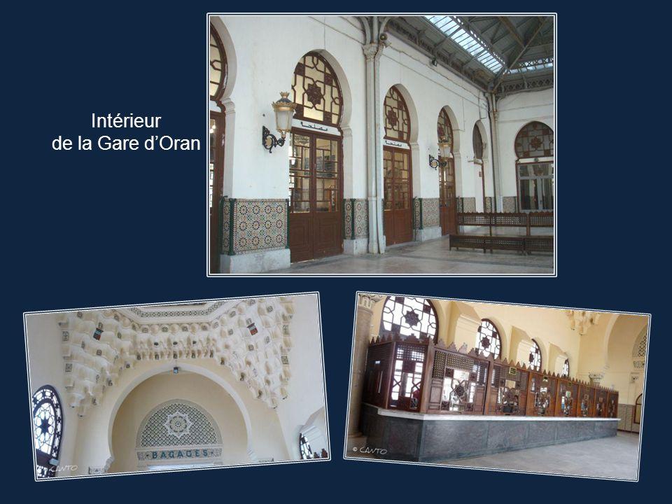 Intérieur de la Gare d'Oran