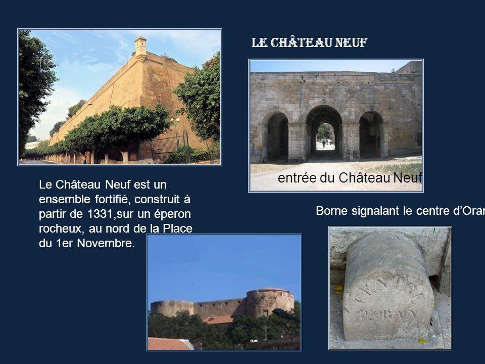 Le Château Neuf entrée du Château Neuf