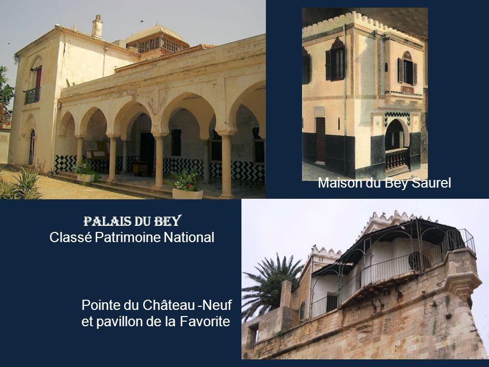 Palais du Bey Classé Patrimoine National