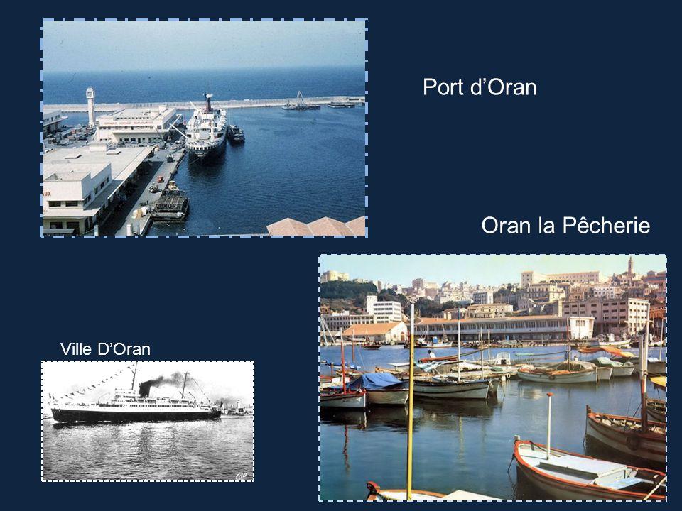 Port d'Oran Oran la Pêcherie Ville D'Oran