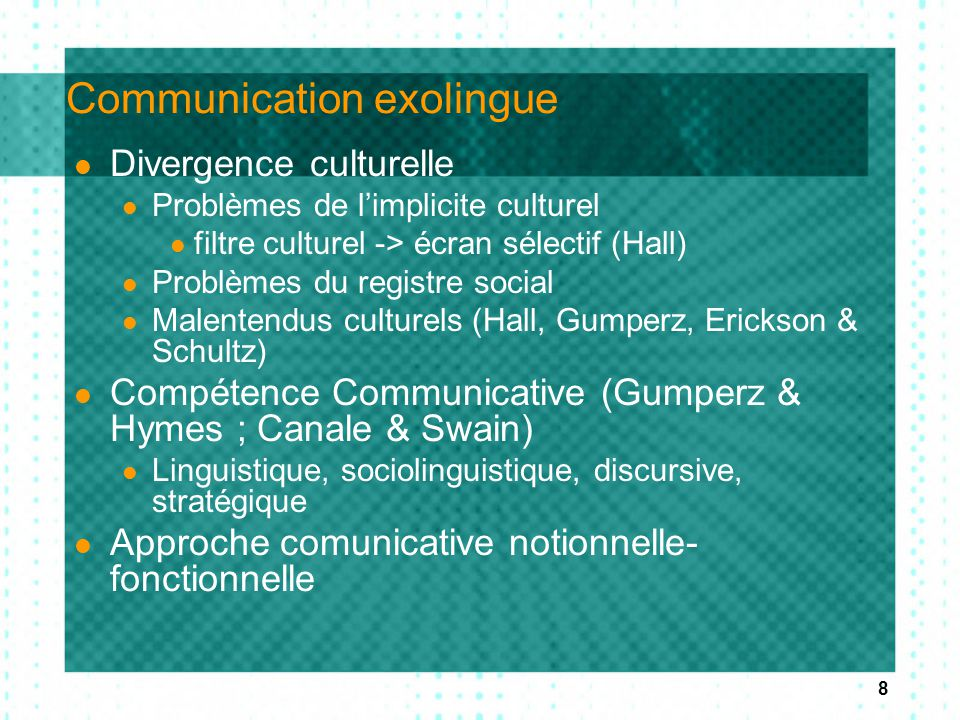 Communication exolingue