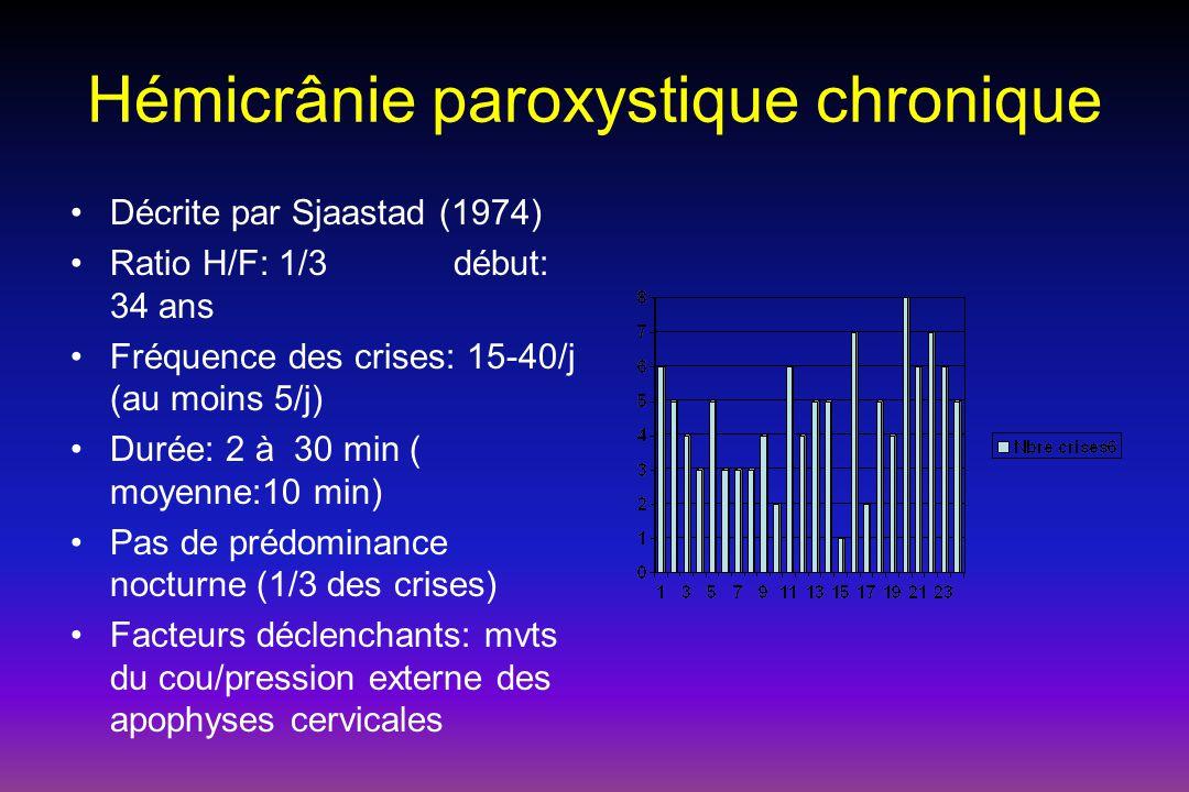 Hémicrânie paroxystique chronique