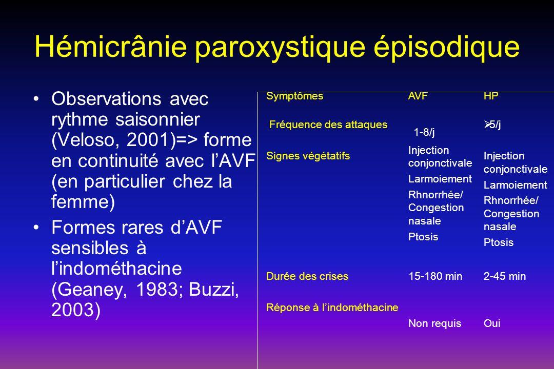 Hémicrânie paroxystique épisodique