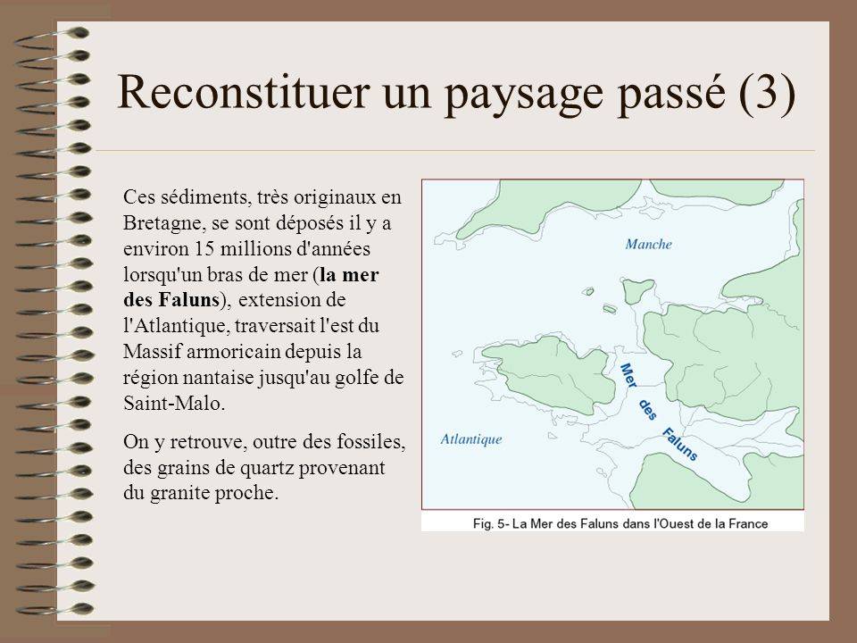 Reconstituer un paysage passé (3)