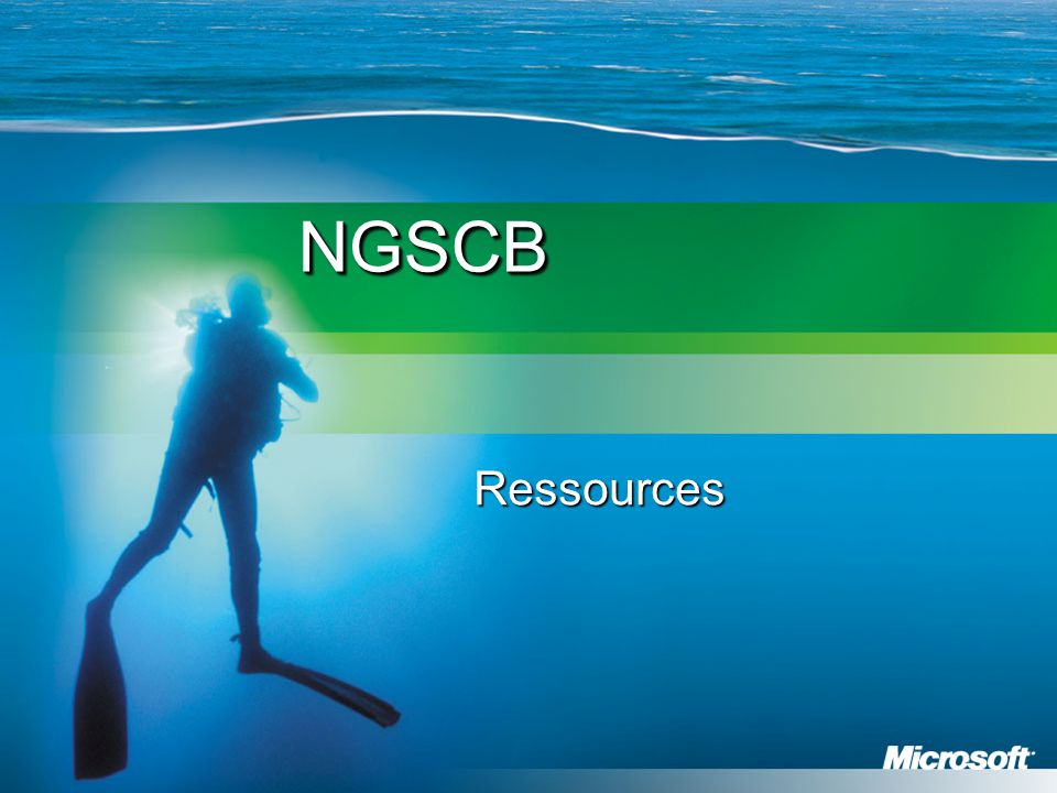 NGSCB Ressources
