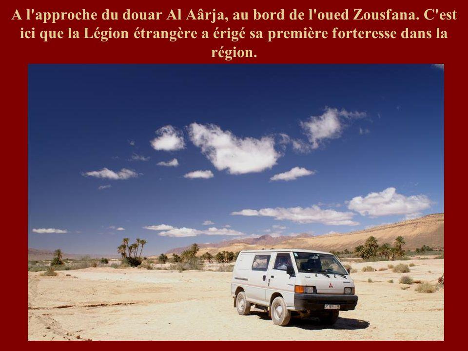 A l approche du douar Al Aârja, au bord de l oued Zousfana
