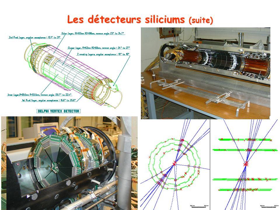 Les détecteurs siliciums (suite)