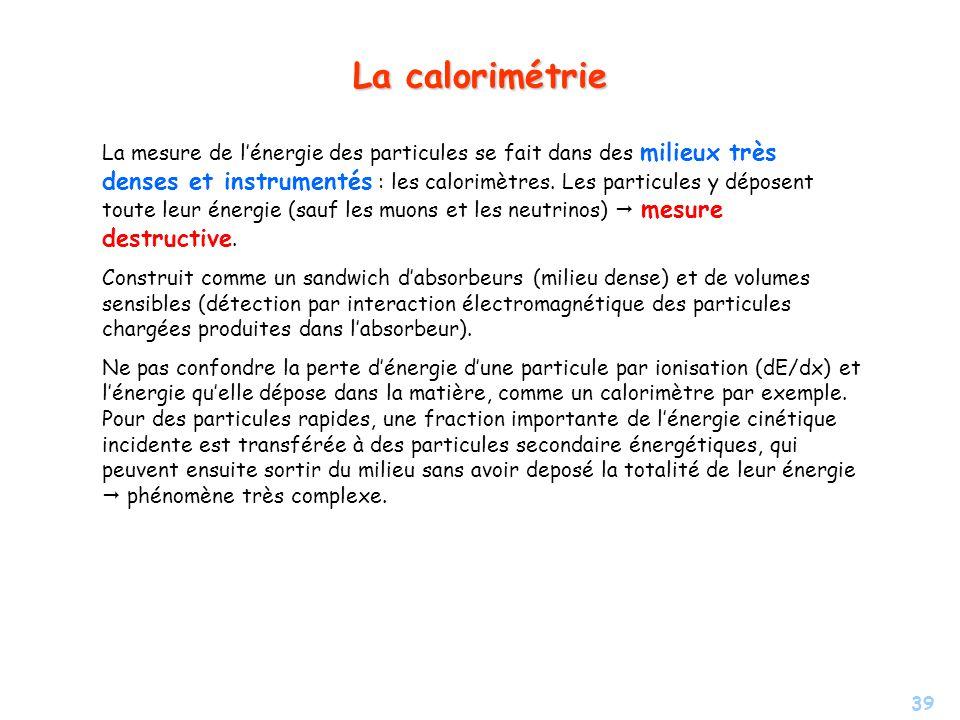 La calorimétrie