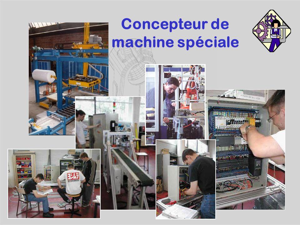 Concepteur de machine spéciale