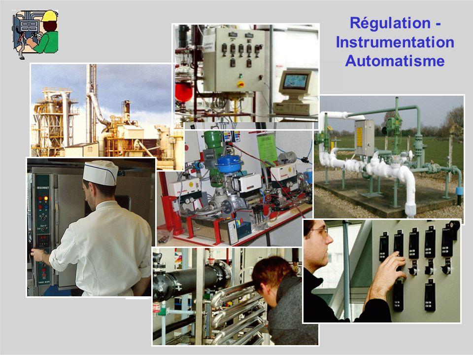 Régulation -Instrumentation Automatisme