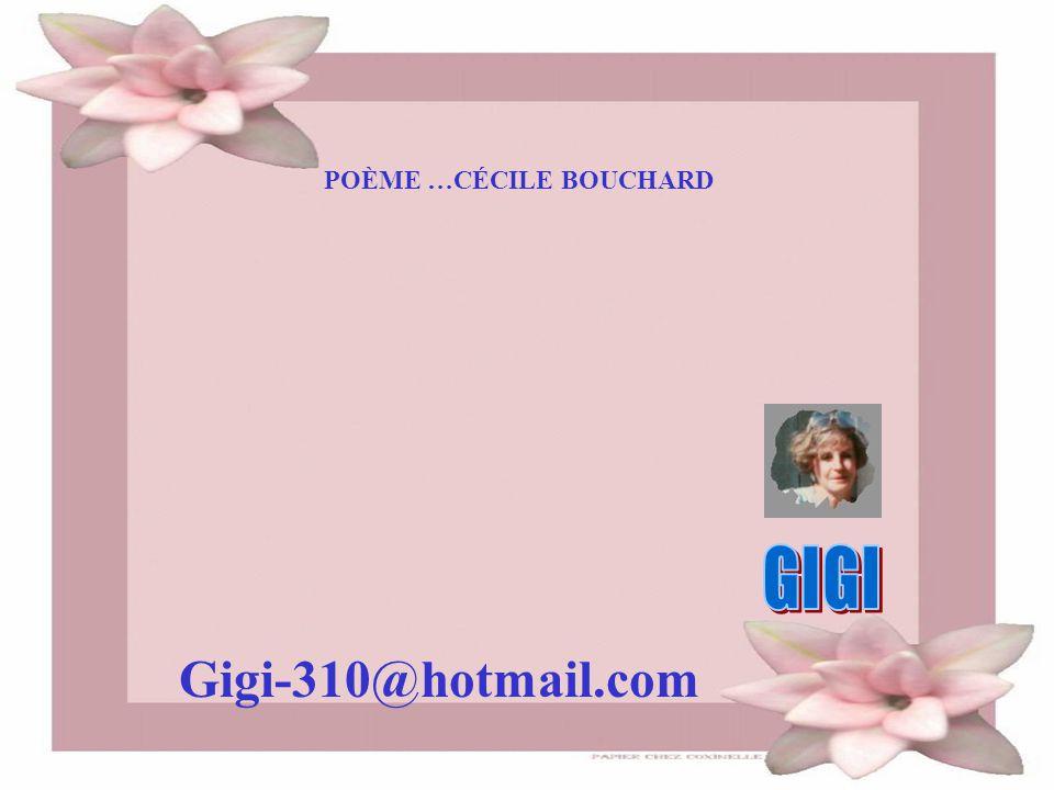 POÈME …CÉCILE BOUCHARD