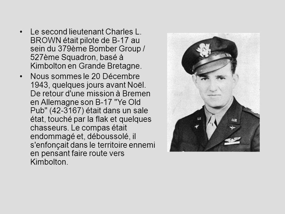 Le second lieutenant Charles L